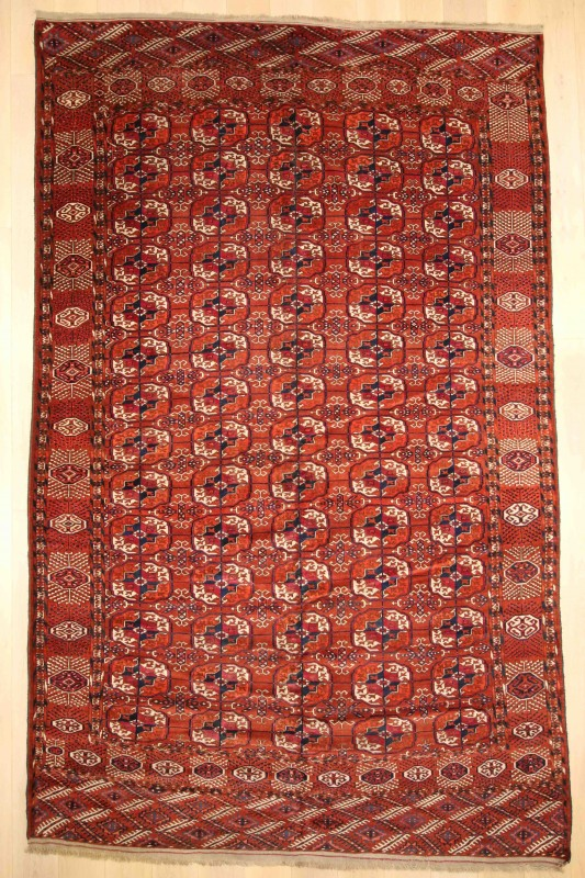 Turkoman Tekke Carpet
